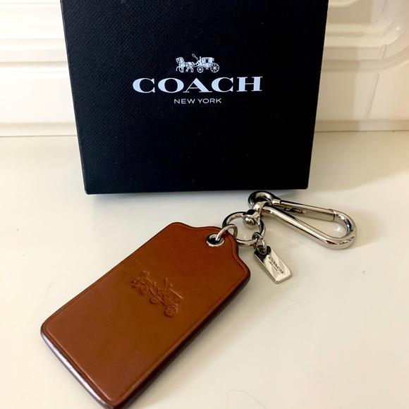 Coach tag 🏷 bag Charm